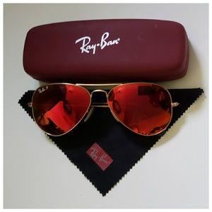 🕶 Ray-Ban Polarized Aviator Sunglasses 🕶